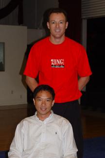 Pete Roberts and Rene Ng